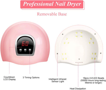 Nail Lamp with Curing