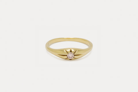 Celeste Ring <br> Pink Diamond ⟡ Gold