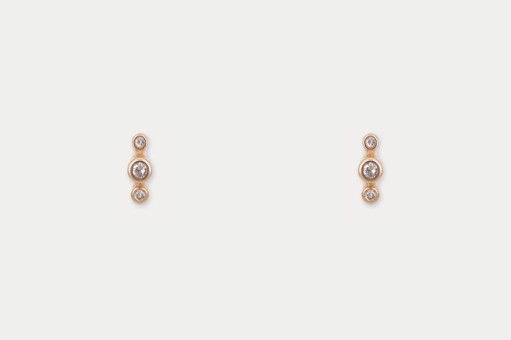 Orion Studs <br> Diamond ⟡ Gold
