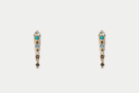 Scorpio Earrings <br> Cleopatra ⟡ Gold
