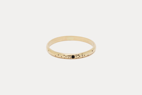 Speckled Band <br> Black Diamond ⟡ Gold
