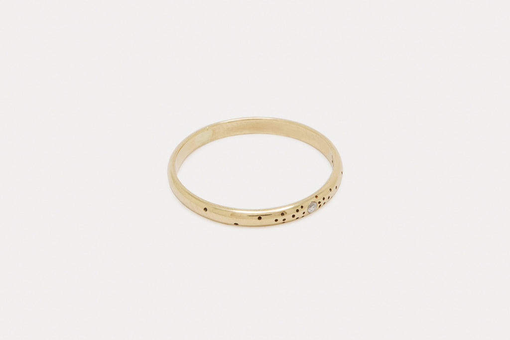 Speckled Band <br> Diamond ⟡ Gold