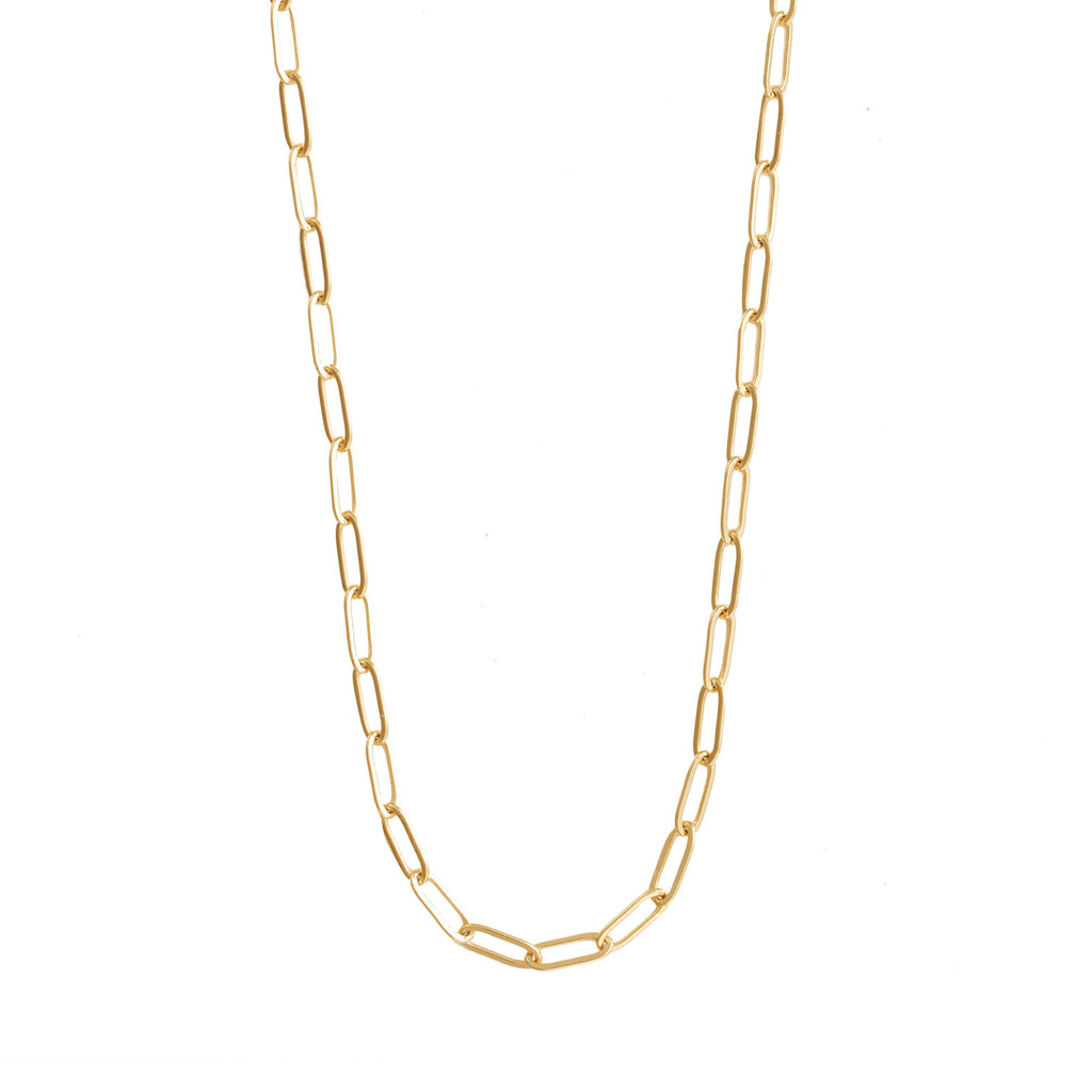 Harper Chain Link Gold Necklace