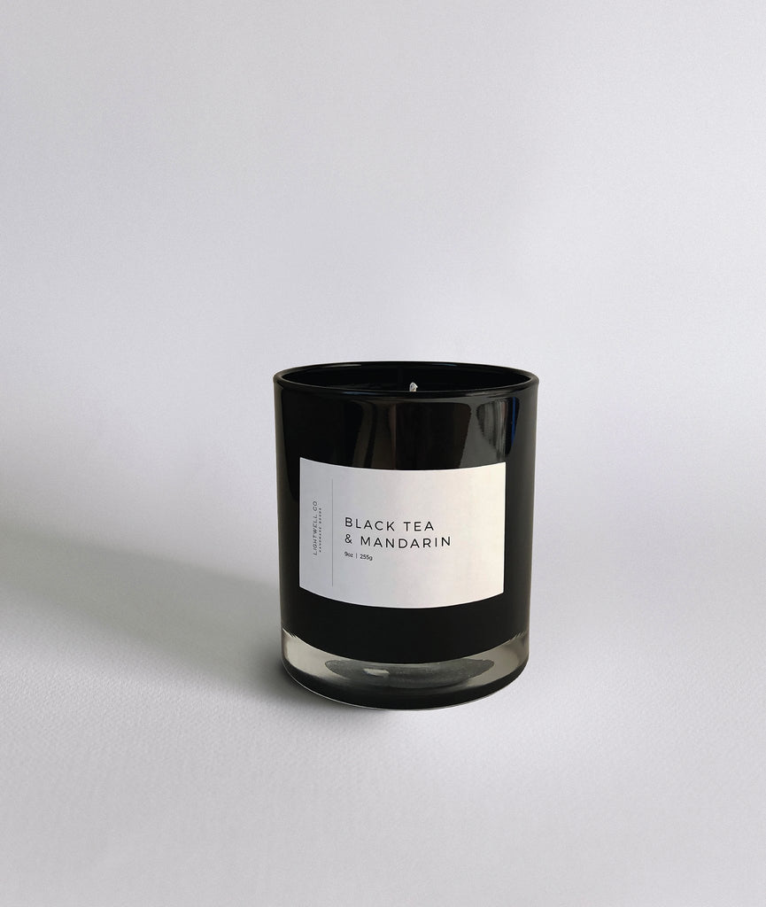 Black Tea & Mandarin Candle