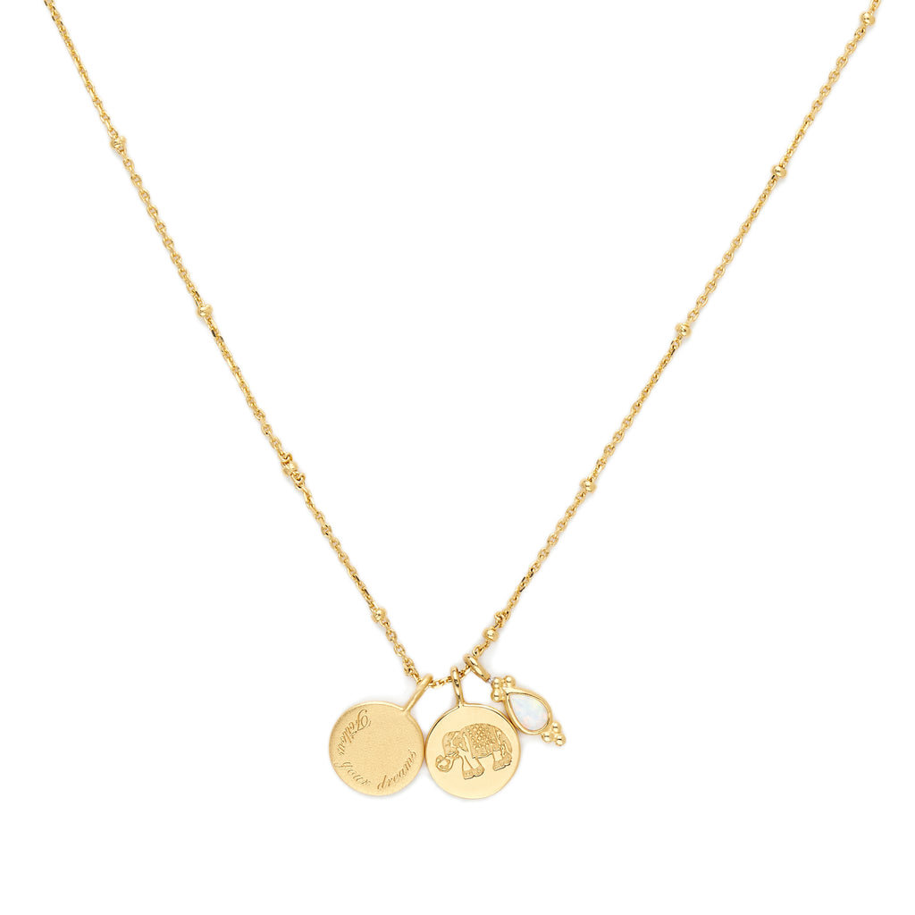 Gold Follow Your Dream Necklace