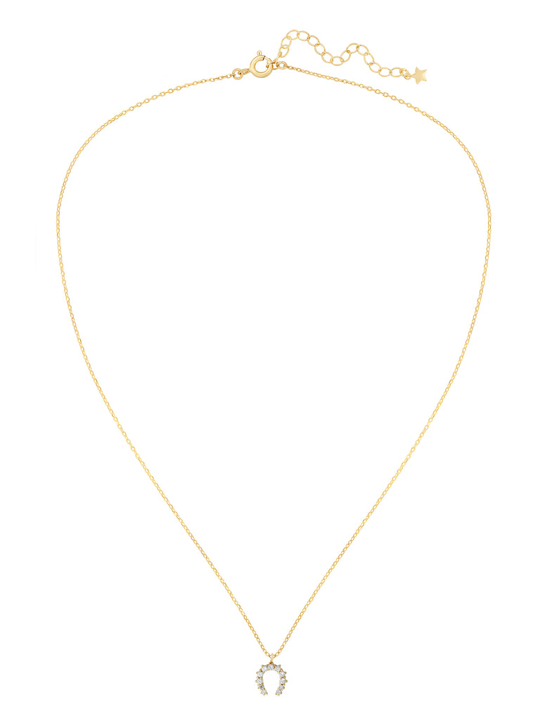 Hazel Necklace-Clear