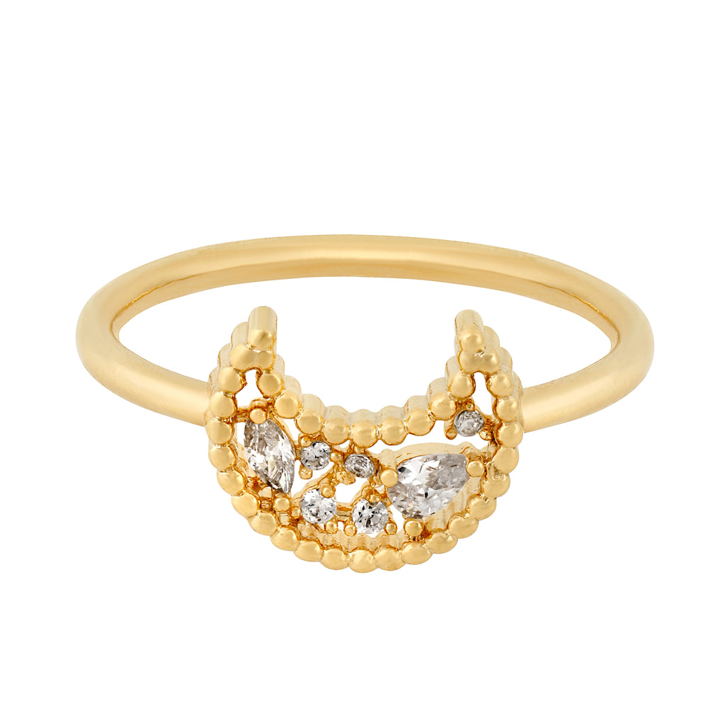 Cosmic Rays Ring-Gold