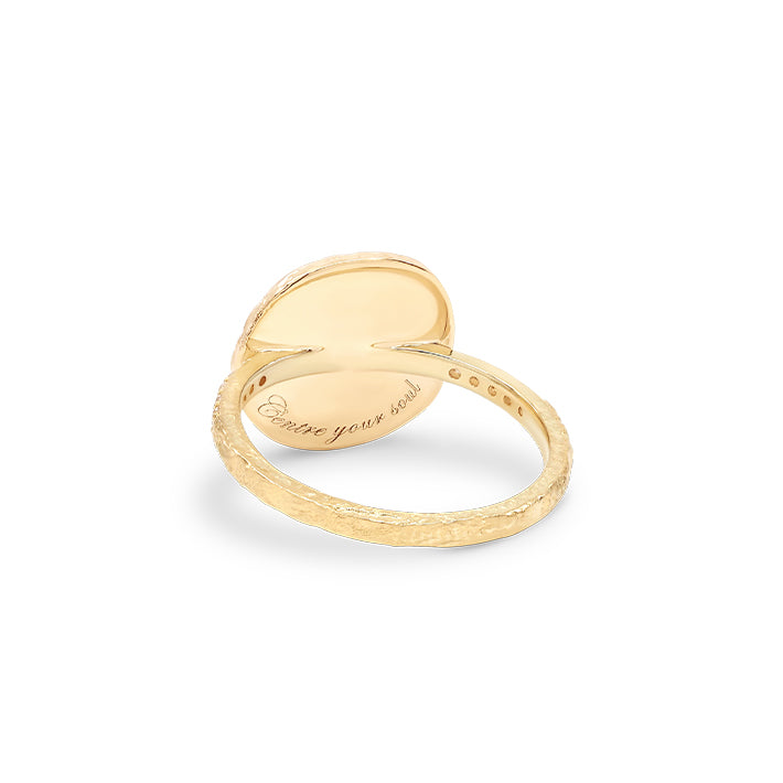 Gold Goddess of Earth Ring