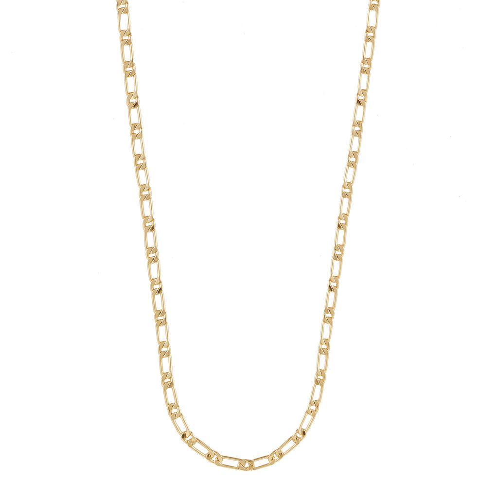 Figaro Chain Gold Necklace