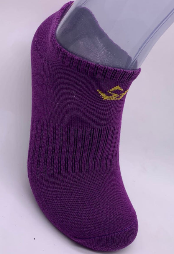 PURPLE/GOLD SOCK