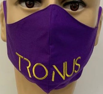 PURPLE/GOLD MASK