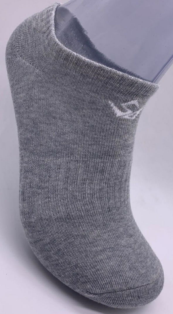 GREY/WHITE SOCK