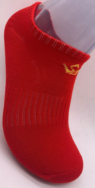 RED/GOLD SOCK