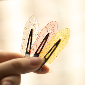 No Mark Hair Clips Set - Pink-ChubbyCo.