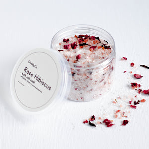 Rose Hibiscus Bath Salt Soak