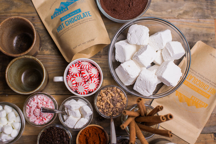 BRING THE PARTY WITH A FANCY HOT CHOCOLATE BAR