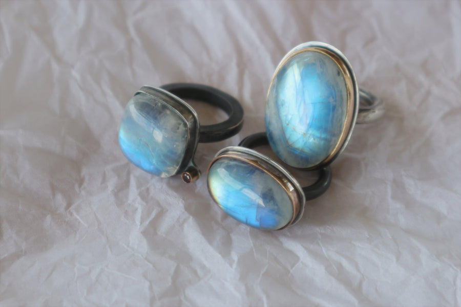 Moonstone Statement Ring 8