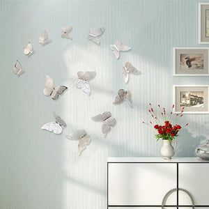 Butterfly Decorations 3D Wall Decals