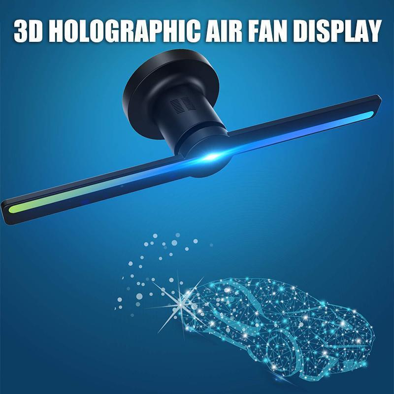 3D Holdgraphic Air Fan Display