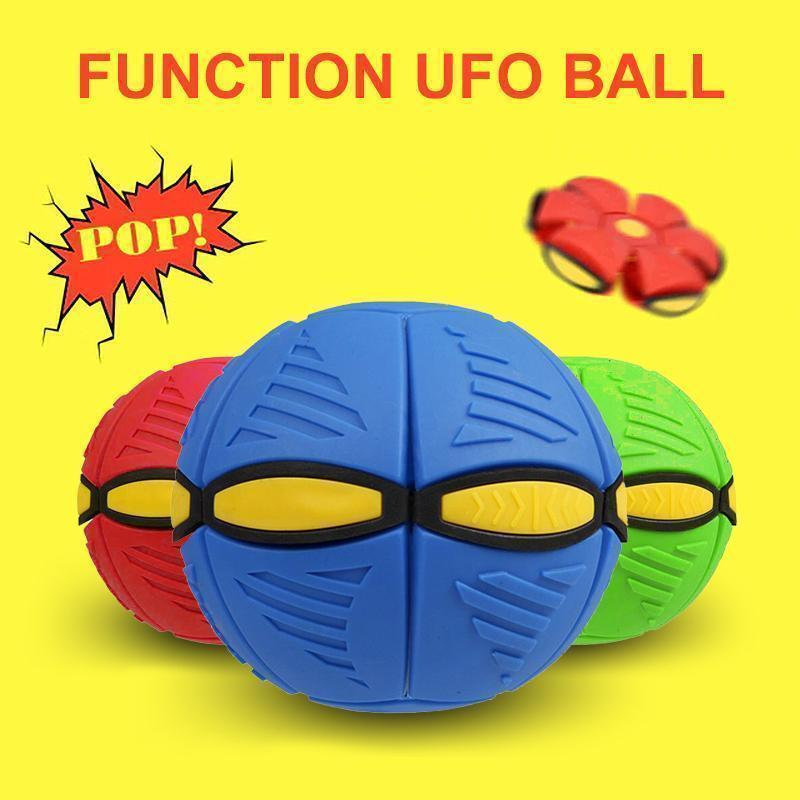 Magic Decompression Multi-Function UFO Ball