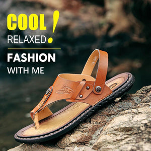 Men Leisure Dual-use Flip-flops Sandals