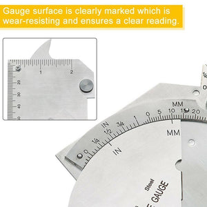 Hirundo Welding Inspection Ruler Weld Gauge
