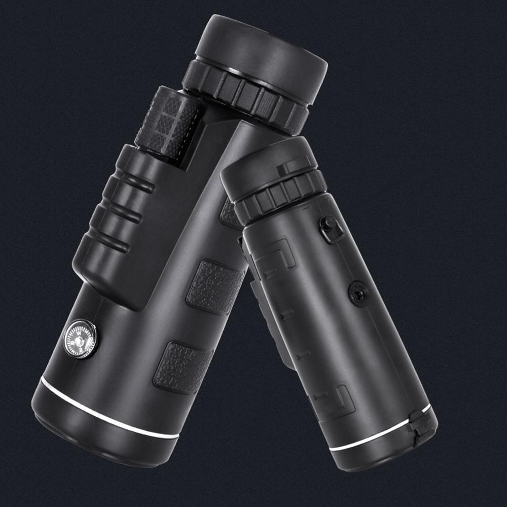 12X50 High Power Monocular Telescope With Smartphone Adapter and Tripod