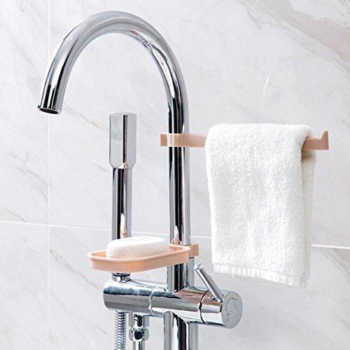 Hanging Storage Rack and Soap Holder(2 Set)