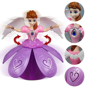 Remote Control Girl Dancing Princess Music Doll Toys
