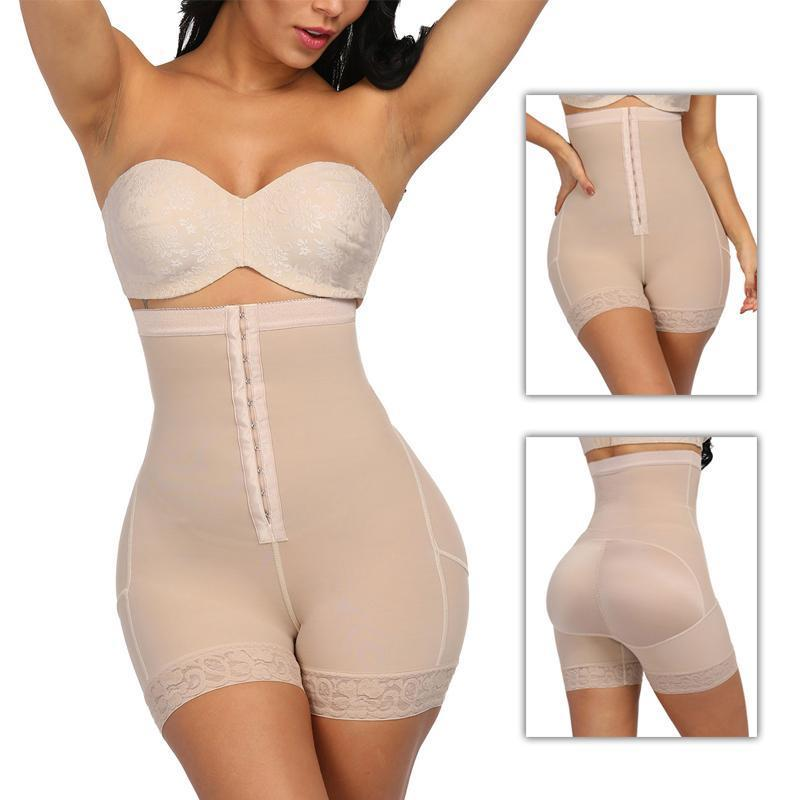 High Waist Compression Girdle Bodysuit BodyShaping Panties