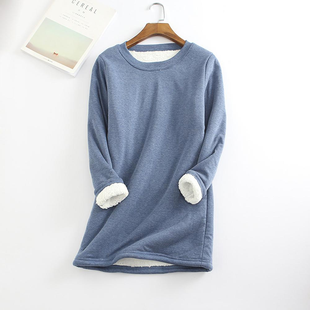 Casual Warm Round Neck Sweatshirt