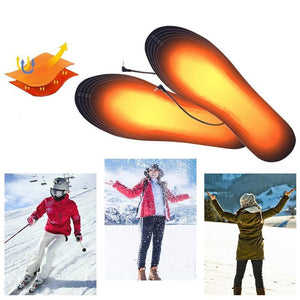 Foot Warmers USB Heated Insole