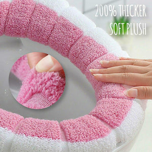 Plush Toilet Seat Cover