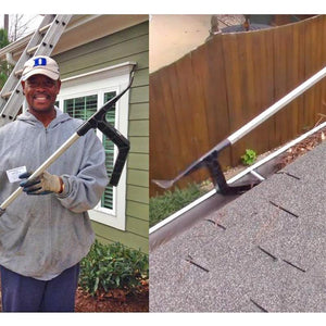 Ingenious Gutter Cleaning Tool