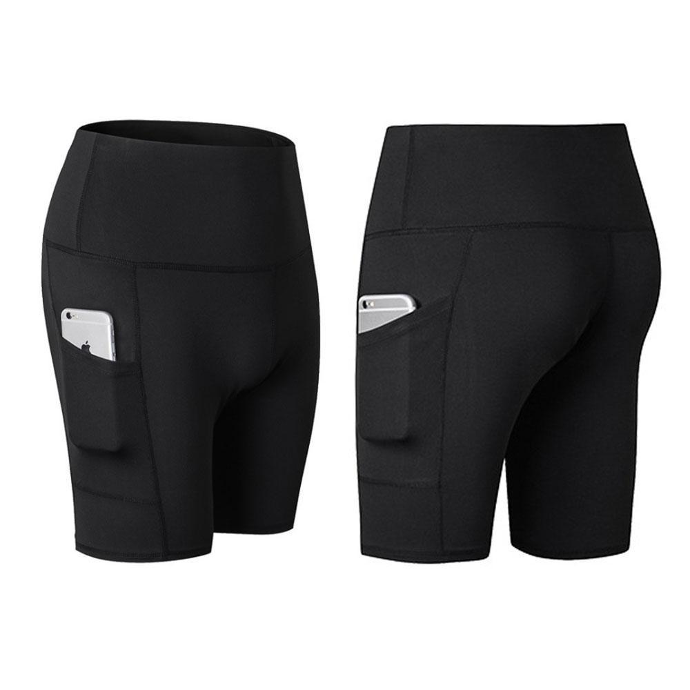 High Waist Workout Running Yoga Shorts