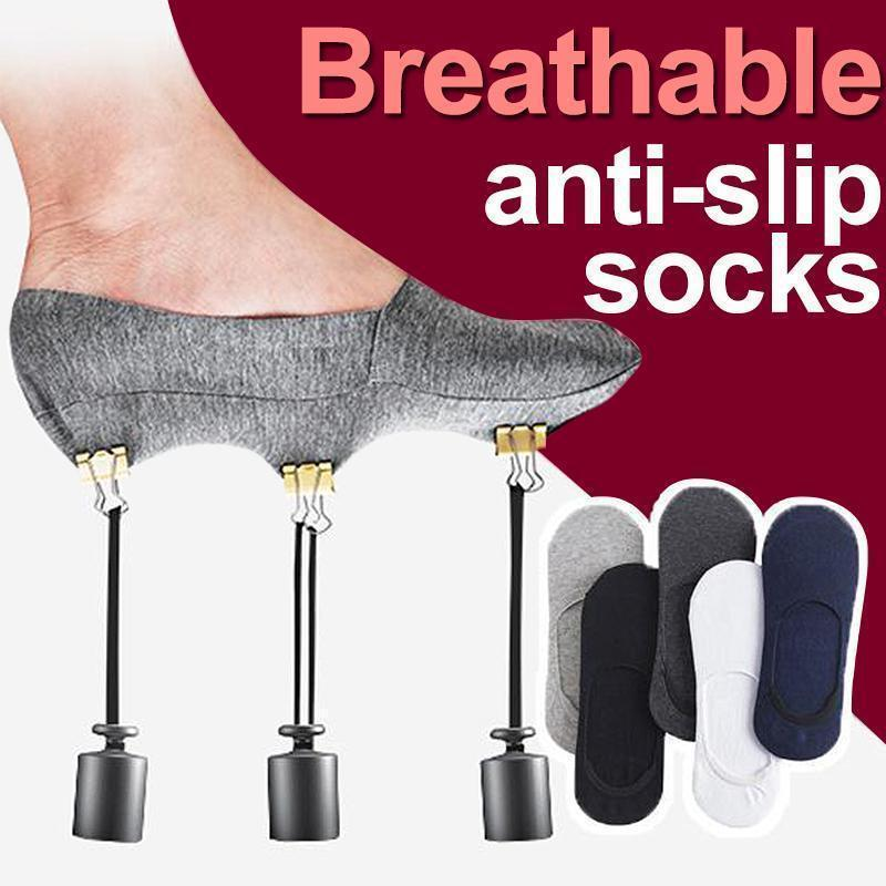Breathable Anti-Slip Socks (3/6 pairs)