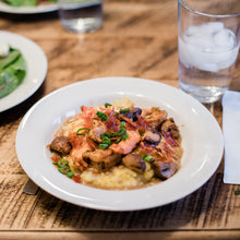 Load image into Gallery viewer, May 15th, Shrimp and Grits, or Lasagna Bolognese