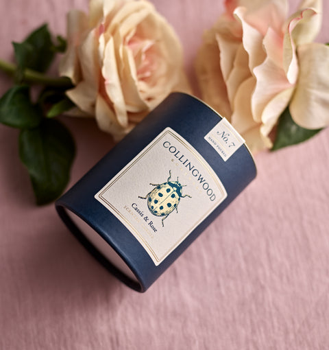 Cassis & Rose Scented Candle