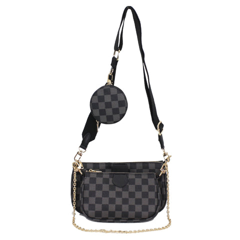 Designer Inspired 3 In 1 Crossbody Bag