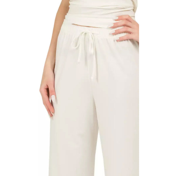 Saloos - Stretch Comfort Fit Plain Trousers - Kirkwood of Scotland