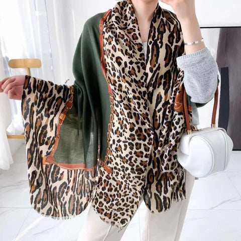 Luxe Print Oversized Scarf