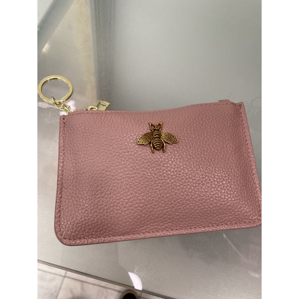 Bee Coin Purse - Pink