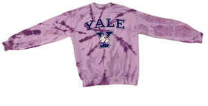 Purple Yale Crew Neck
