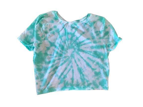 Aquamarine Crop Top