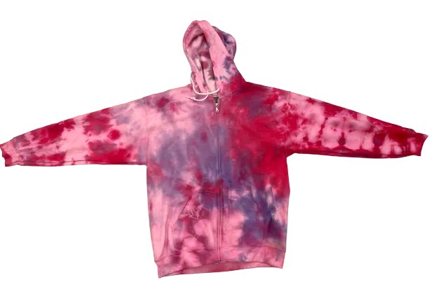 Raspberry Jam Zip Up