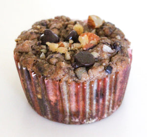 Banana Dark Chocolate Muffins Keto, Paleo, Diabetic Friendly and Gluten Free