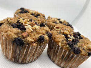 Blueberry Muffins Keto, Paleo, Diabetic Friendly and Gluten Free
