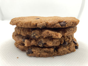 Chocolate Chip Cookies Keto, Paleo and Diabetic Friendly and Gluten Free.