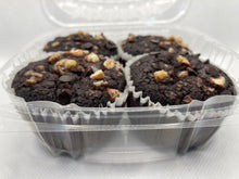 Load image into Gallery viewer, Double Dark Chocolate Muffins Keto, Paleo, Diabetic Friendly and Gluten Free