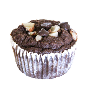Double Dark Chocolate Muffins Keto, Paleo, Diabetic Friendly and Gluten Free